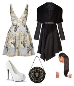 """#30"" by cecilie-monica-nrskov-pedersen on Polyvore featuring Notte by Marchesa and BCBGMAXAZRIA"