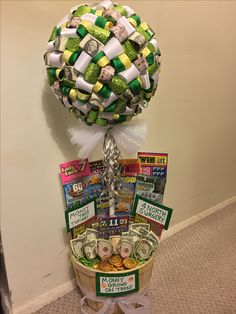 Cool and creative ways to give money as a gift money trees easy money tree topiary negle Choice Image