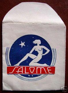 1930s/40s Paper-based Condom Envelopes