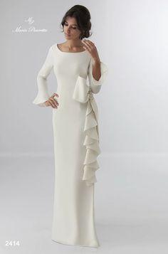 Wedding Dresses by María Picaretta - # María . Bridal Dresses, Wedding Gowns, Boho Wedding, Dream Wedding, Mermaid Wedding, Lace Dress, White Dress, Mode Abaya, Evening Dresses
