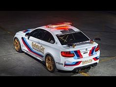 BMW M2 MotoGP Safety Car receives a BMW M Performance Parts Upgrade. - YouTube