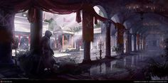 Assassin\'s Creed Brotherhood: Vatican Cloister by Donglu Yu | 2D | CGSociety
