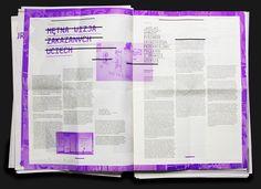 Poets' Poznan – Newspaper on Behance