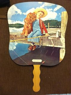 Parkersburg, WV - Wharton Roofing Company - Vintage Advertising Fan.