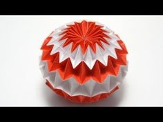 Origami Magic Ball (Dragon's Egg by Yuri Shumakov) - YouTube
