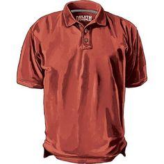 Men's No Polo Short Sleeve Shirt