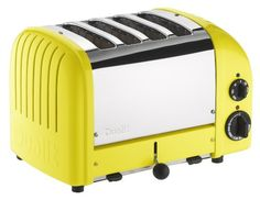 Purchase Dualit Four Slice New- Gen Toaster in Citrus Yellow from Dualit on OpenSky. Share and compare all Kitchen. Dualit Toaster, Kitchen Shop, Kitchen Helper, Kitchen Decor, Kitchen Stuff, Specialty Appliances, Small Kitchen Appliances, Island Kitchen, Yellow