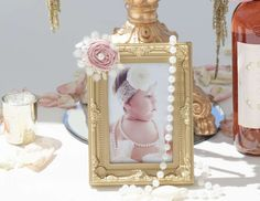 """Pink and Gold  / Baptism """"Victoria's Baptism""""   Catch My Party"""