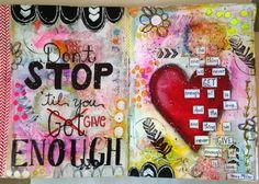 by Lois Stoneking for Art to the 5th's DLP art journal week 6.