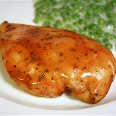 Baked Honey Mustard Chicken. I tried this recipe and it is really good! Even my very picky kids liked it!