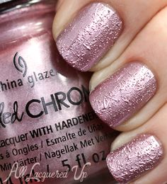 China Glaze - I'm a Chromantic (Crinkled Chrome Collection Winter 2014) / AllLacqueredUp