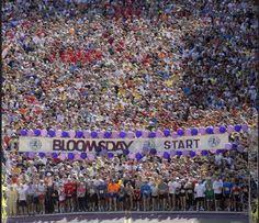 Bloomsday Timed Road Race. Spokane WA since 1977. 7.5