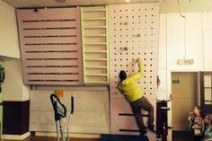 Peg board training