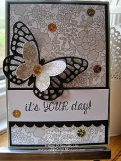 Stampin Up UK Demonstrator UK Pegcraftalot Order Stampin Up HERE: Something Lacy Stampin' Up! Background Card by eva.ritz