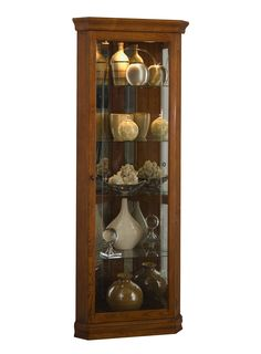 Pulaski Oxford Black Corner Curio Cabinet | Wayfair - would love ...