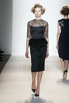 Look 23 of Lela Rose Fall 2013 Trunk Show at Roan. Visit http://roanshop.com/ for more information.
