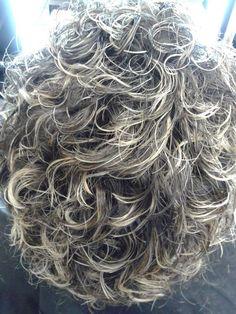 Peinados de corte en V y U de 60 V para darle el ángulo correcto Short Permed Hair, Grey Curly Hair, Curly Hair Cuts, Permed Hairstyles, Pretty Hairstyles, Wavy Hair, Curly Hair Styles, Haircut And Color, Asian Hair