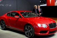 #Bentley Continental V-8