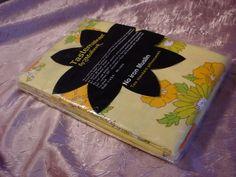 Vintage Mohawk No Iron MUSLIN Cotton Blend 2 PILLOW CASES NIP Yellow Floral #Mohawk #Retro Seller florasgarden on ebay