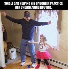 Yeah! Go Dad!
