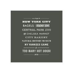 New York Type Tribute