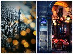 Paris at Christmas  by Carina Okula