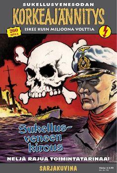 Korkeajännitys - Sukellusveneen kirous. #egmont #sarjakuva #sarjis #sota #natsit #sotilas #sotasarjakuva