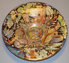 Jose Cire Royo Moser Enameled Glass Jugendstil Pre Raphaelite Art Nouveau Bowl | eBay