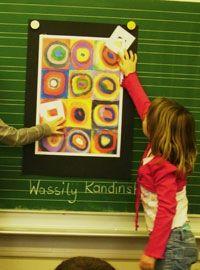 Kandinsky - 1. Klasse Mit Erklärung!