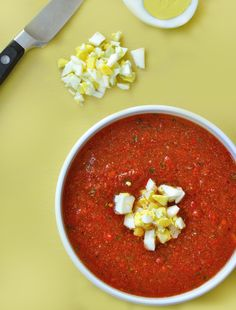 Just a Taste | Quick and Easy Gazpacho | http://www.justataste.com