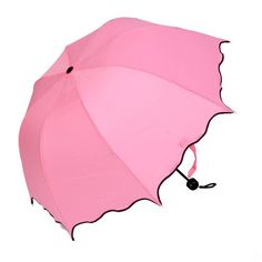 Pink Chinese Sombrillas Para El Fashion Ladies Umbrellas High Quality 3 Folding Sun Protection Umbrella Rain Women -- Awesome product. Click the image : Umbrella Racks