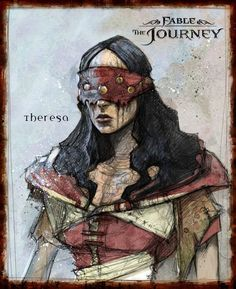 Image detail for -Fable: The Journey – Concept Art Fantasy Character Design, Character Concept, Character Inspiration, Character Art, Concept Art, Character Ideas, World Of Warcraft, Skyrim, Fable 2