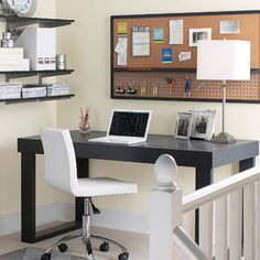 Follow These 7 Design Tips for an Inspiring Home Office #homebusiness #workathome
