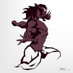 Varaha Avatar - Minimalism