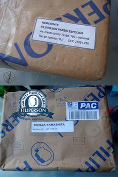 Amostra de papéis Filiperson http://www.lojafilipaper.com.br