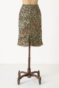 Twinkle Lights Pencil Skirt  $218.00