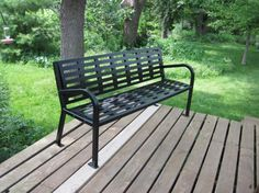 Park Bench BenchesFront PorchHome Depot