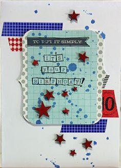 Sketch N Scrap featured card designer. Lizzy Hill