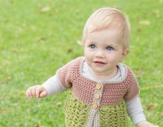 Secret Garden Toddler Cardigan - Giveaway + Crochet Pattern