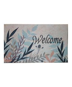 Take a look at this Leaves of Grass Doormat by Mohawk Home on #zulily today! $14.99