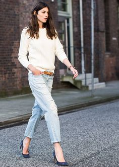 We love: Denim Streetstyle-Looks!