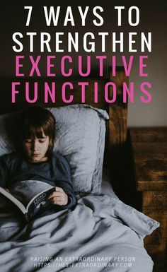 Executive Functions - What are they, how do they develop? Plus - 7 Activities that Develop Executive Functions #Autism #Parenting #SpecialEd #ADHD