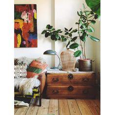 Instagram Stories: Emily Katz. Katz picked up some Danish-modern interiors inspiration in the home of a friend in Copenhagen.
