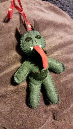 Krampus Wenn's Weird Creations on Etsy $7.00