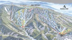 Angel Fire, NM Ski Trail Map One of the 12 Resorts on the Powder Alliance Pass! Get 3 days here FREE when you buy a Premier Season Pass at Snowbasin