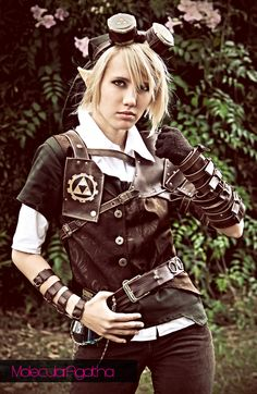 +SteamPunk Link+ by ~MolecularAgatha on deviantART