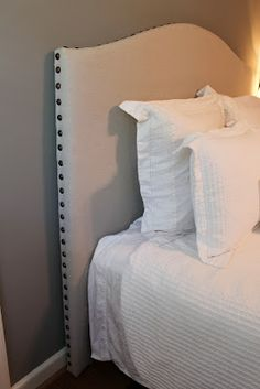 DIY headboard...PB lookalike!