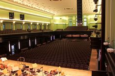 So in etwa sehen die Künstlerinnen und Künstler den Großen Saal