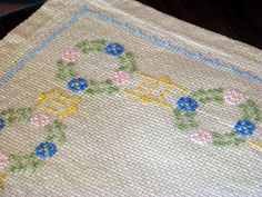 embroidery done approx 70 years ago