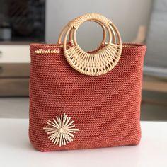 Loom Crochet, Bag Crochet, Crochet Twist, Crochet Market Bag, Crochet Handbags, Crochet Purses, Crochet Shoulder Bags, Art Bag, Knitted Bags